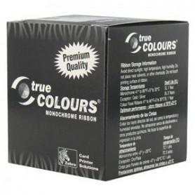 800015-301 - Ribbon Monocromatico Nero per Stampanti Zebra P330m/P330i/P430i - 1500 Stampe