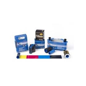 800015-240 - Ribbon a colori 5 pannelli YMCKOK, 100 stampe per stampanti P2xxi