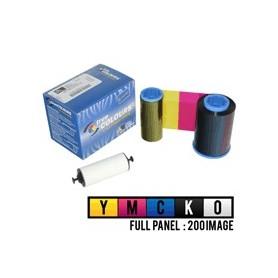 800015-440 - Ribbon a Colori 5 Pannelli YMCKO per Stampanti Zebra  P310i, P320i, P330i, P420i, P430i e P520i - 200 Stampe
