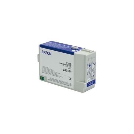 C33S020464 - SJIC15P Cartuccia a 3 colori (Ciano, Magenta, Giallo) per TM-C3400